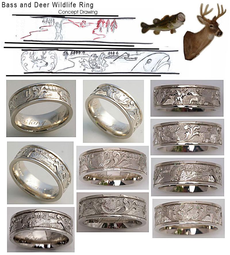 Michael Drechsler Jewelry Ltd B Deer Wildlife