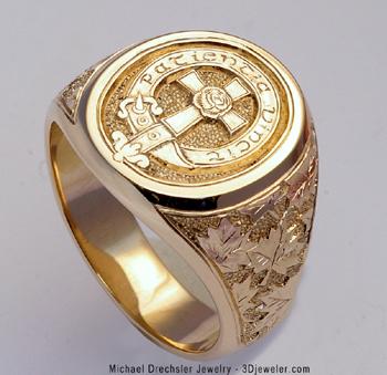 Mens Rings Gold Signet Rings And Custom Designed Rings