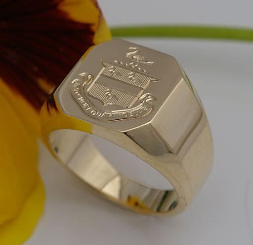 Jackson Family Crest Ring