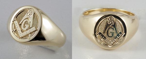 Michael Drechsler Jewelry Ltd Hand Engraved Masonic